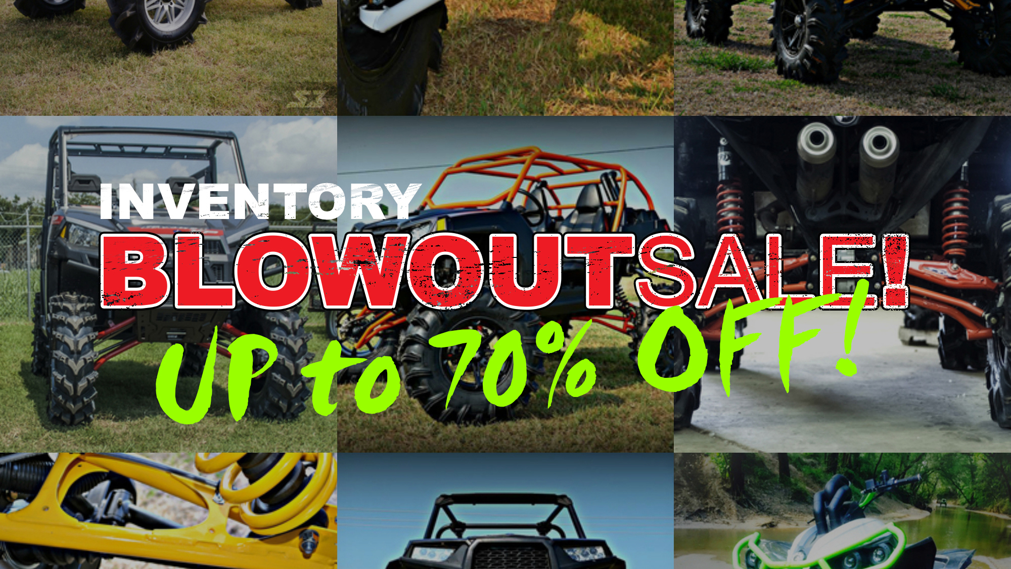 Inventory Blowout Sale!